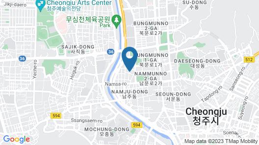 HOTEL YaJa West Gate Map