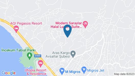 Modern Saraylar - All Inclusive Map