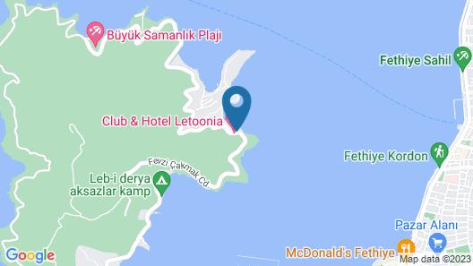 Club & Hotel Letoonia Map