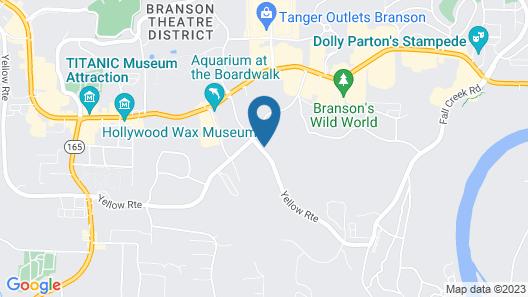 Red Roof Inn Branson Map
