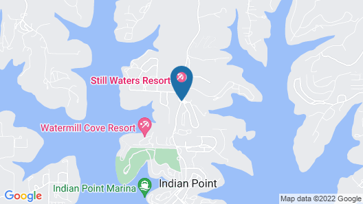 The Village At Indian Point Resort Map