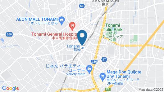 APA Hotel Tonami-Ekimae Map