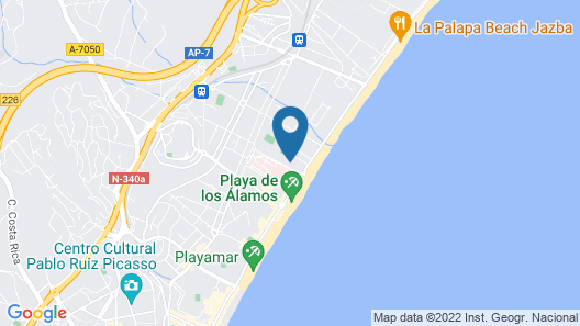 Marconfort Costa del Sol Hotel Map