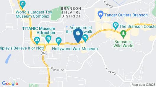 Quality Inn On the Strip Map