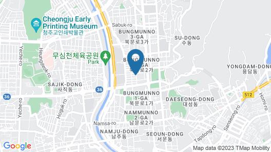 Cheongju Tomato Hotel Map