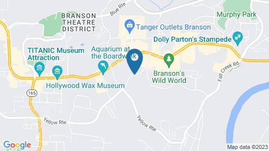 Green Gables Inn Map