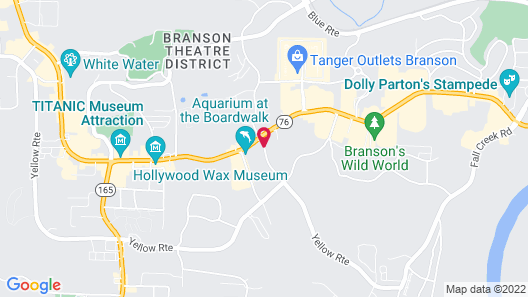 Radisson Hotel Branson Map