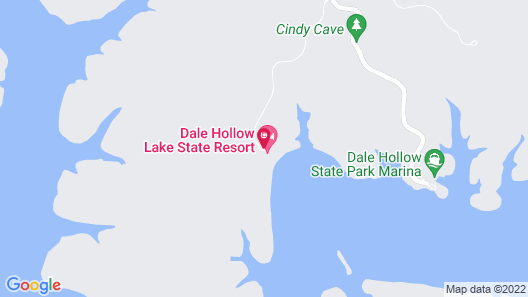 Dale Hollow Lake State Resort Park Map