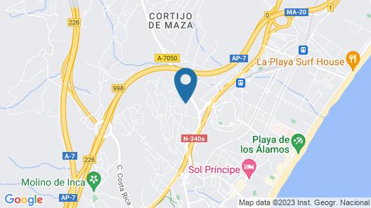 Hotel Zen Airport Map