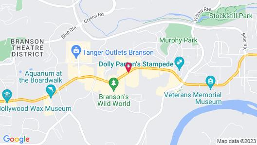 Grand Country Waterpark Resort Map