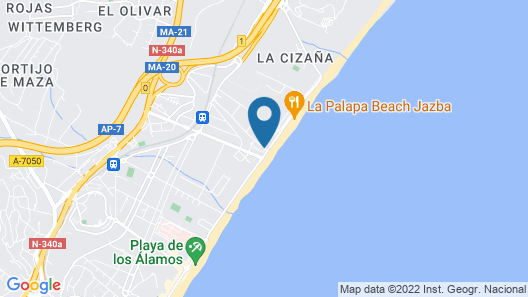 Holidays2 Malaga Cizaña  Map