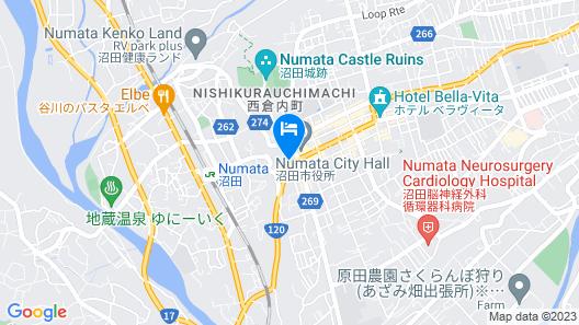HOTEL LiVEMAX Gunma-Numata Map