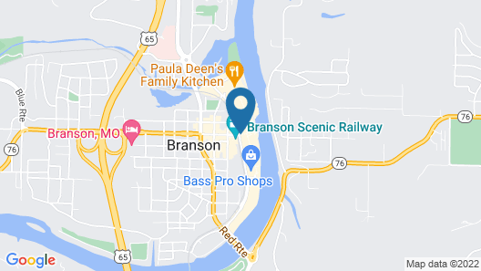 Hilton Promenade at Branson Landing Map