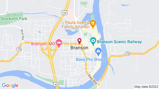 The Branson Hotel Map