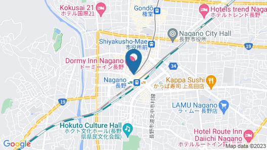 Nagano Tokyu REI Hotel Map