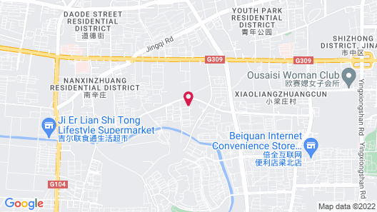 Grand Mercure Jinan Sunshine Map
