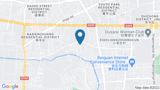 Grand Mercure Jinan Sunshine Map