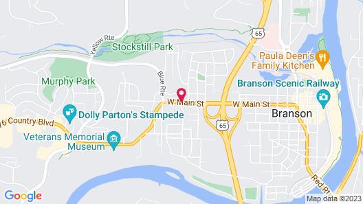 Baymont by Wyndham Branson - On the Strip Map