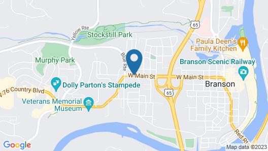 Homestead Motel Map