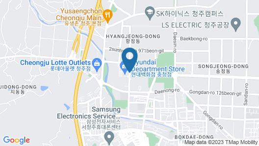 Hotel Lacky Cheongju Map