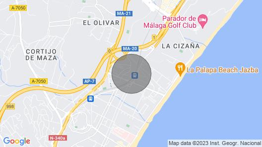 Villa Celia. Torremolinos. Magnificent Villa With Heated Pool Map