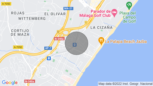 Malaga: House / Villa - Malaga House With Garden 10 km Away From Malaga Downtown Map