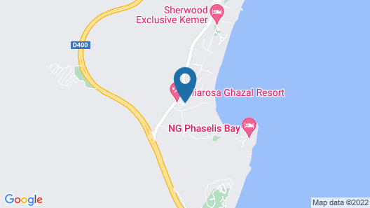 Kimeros Park Holiday Village - All Inclusive Map