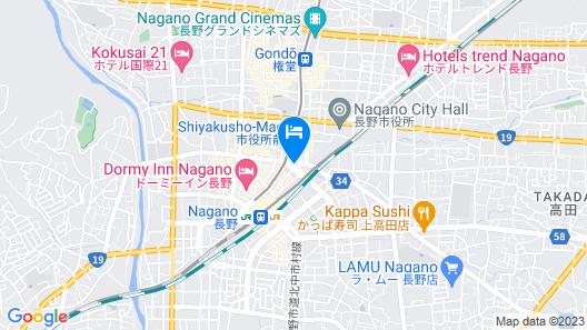 Chisun Grand Nagano Map