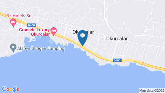 Oz Hotels SUI - All Inclusive Map