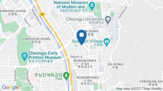Born Hotel Cheongju Map