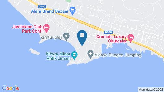 Litore Resort Hotel & Spa - All Inclusive Map
