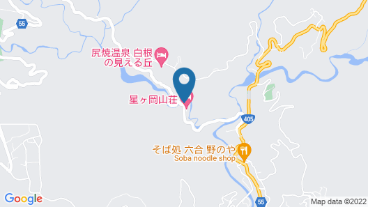 Shiriyakionsen Hotel Kozanso Map