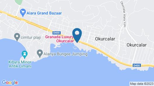 Granada Luxury Resort Okurcalar - All Inclusive Map