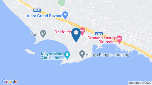 Laguna Beach Alya Resort & SPA - All Inclusive Map