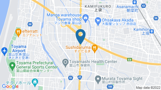 Hotel Route-Inn Toyama Inter Map
