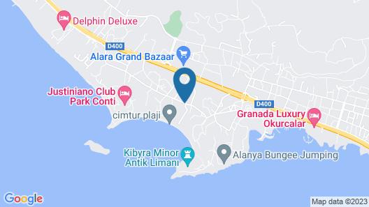 Kirman Leodikya Resort - All Inclusive Map