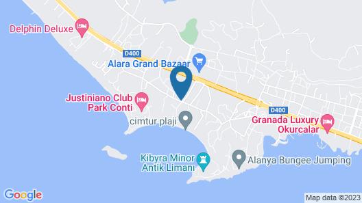 Mysea Hotels Alara - All Inclusive Map