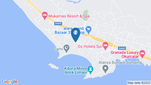 Gardenia Beach Hotel - All Inclusive Map