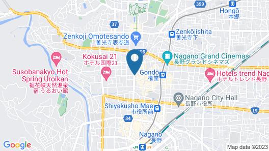 WORLDTRECK DINNER & GUESTHOUSE Pise - Hostel Map