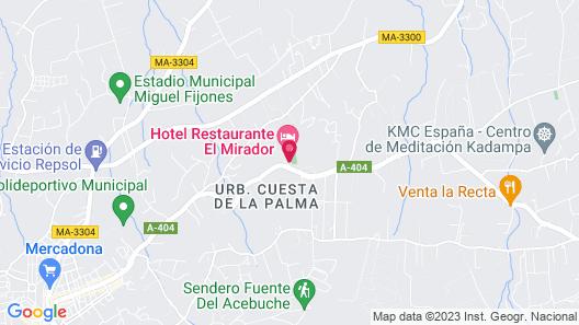 Hotel El Mirador Map
