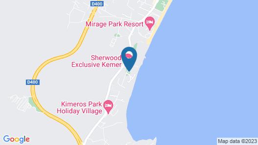Sherwood Exclusive Kemer Map