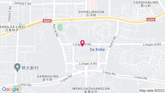Sheraton Jinan Hotel Map