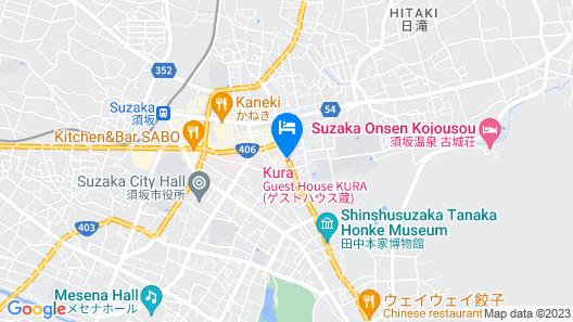 Guest House Kura - Hostel Map