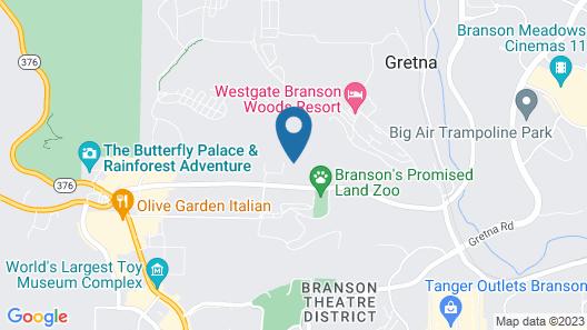The Park at Foxborough Resort Map