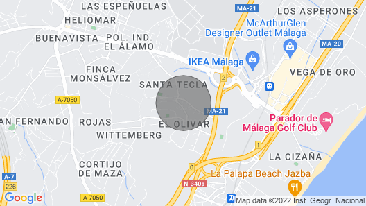 5 Bedroom Accommodation in Torremolinos Map