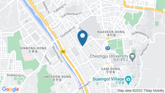 Hotel ES Cheongju Map