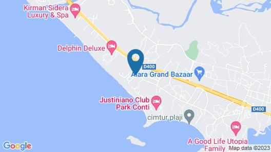 Club Aqua Plaza Map