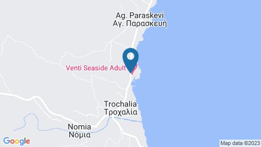 Monemvasia Seafront Map