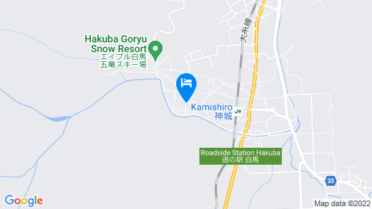 Hotel Mont Blanc Hakuba Map