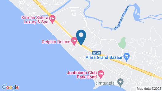 Mukarnas Spa & Resort - All Inclusive Map